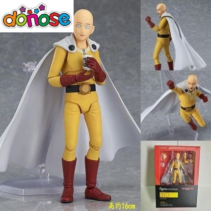 ONE PUNCH MAN Saitama figma 310 PVC Action Figure Collection Model Kids Toy Doll title=