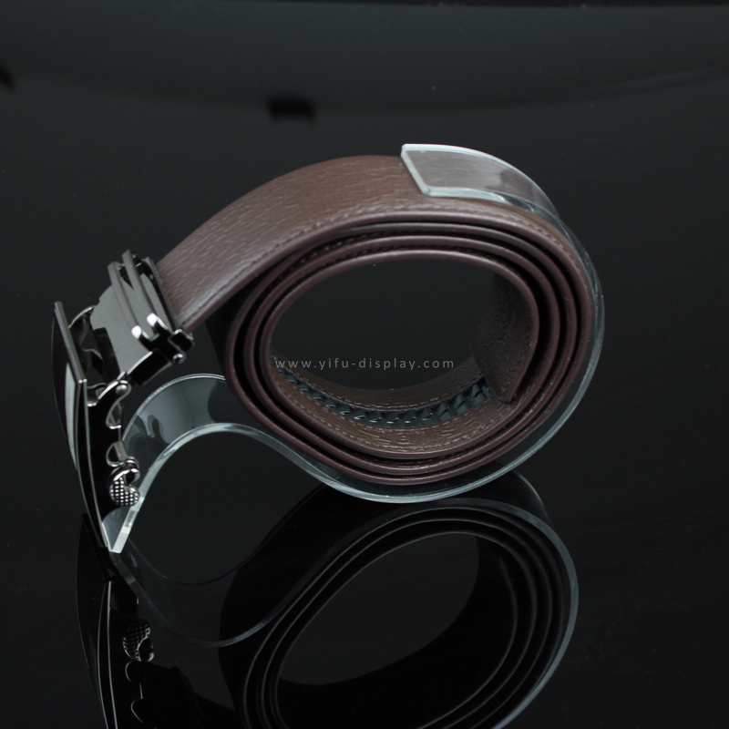 Clear Acrylic Belt Holder Belt Display Rack Acrylic Belt Display Stand e cig acrylic display holder 20mm
