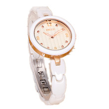 Новое Поступление K1234 100% Керамические BrandKEZZI Дамы Наручные Часы Кристалл Камень Керамические Часы Женщины бесплатная доставка