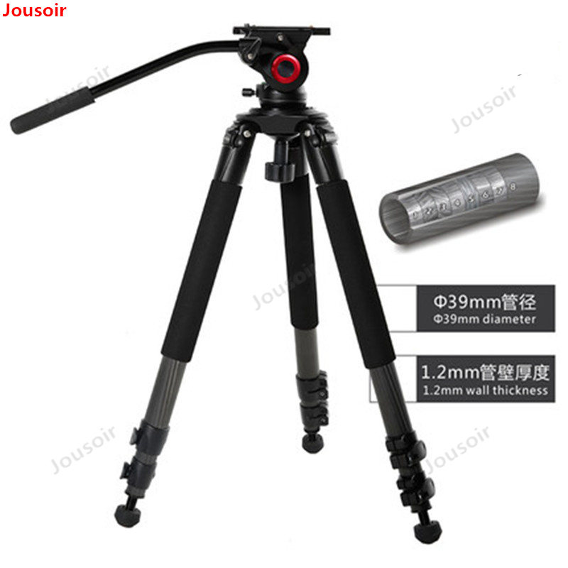 MTT701B Best Carbon Fiber Camera Mount Tripod For photo accessoires /dslr Digital Camcorder Stand CD50 T03 image