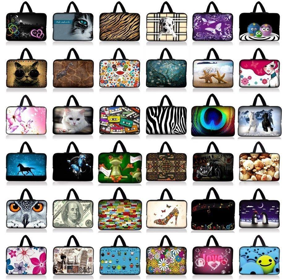 7.9 9.7 10.1 11.6 13 13.3 14 14.4 15.4 15.6 Painted Laptop Case Notebook Bag For Macbook Dell Asus Acer Men Women Handbag