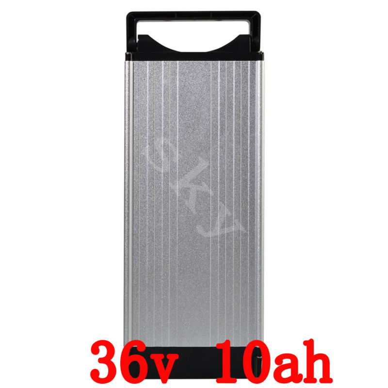 Battery 36v 10ah 500w Ebike Battery 36v E Bicycle Scooter Battery With 42v 2A Charger,BMS Lithium Battery Pack 36v Free Shipping hot sale 36v lithium battery 36v 20ah electric bike battery 36v 20ah 700w battery for ebike scooter with 20a bms 42v 2a charge