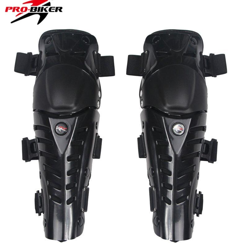 Pro Biker Motorcycle knee Protector Motocross knee brace Motorbike Racing safety Knee Pads Guard Protective Gear Black