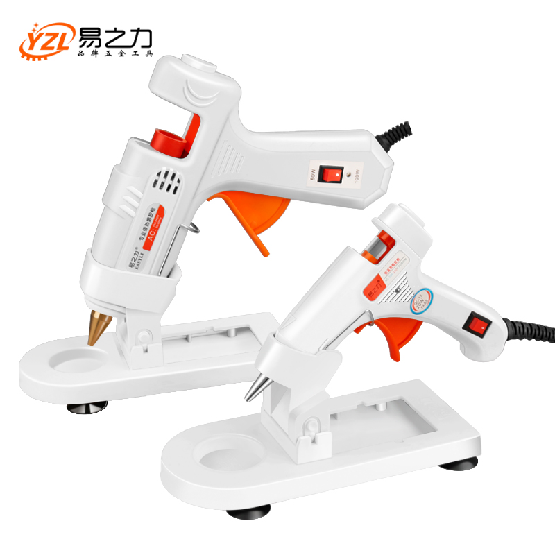 EU Plug Professional High Temp Hot Melt Glue Gun 30W Graft Repair Heat Gun Pneumatic DIY Tools Hot Glue Gun free Glue sticks