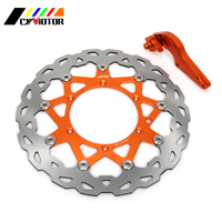 320MM Floating Brake Discs Rotor and Bracket For KTM EXC SX GS MX SXS MXC XCW SXF LC4 125 144 200 250 300 350 380 400 450 500