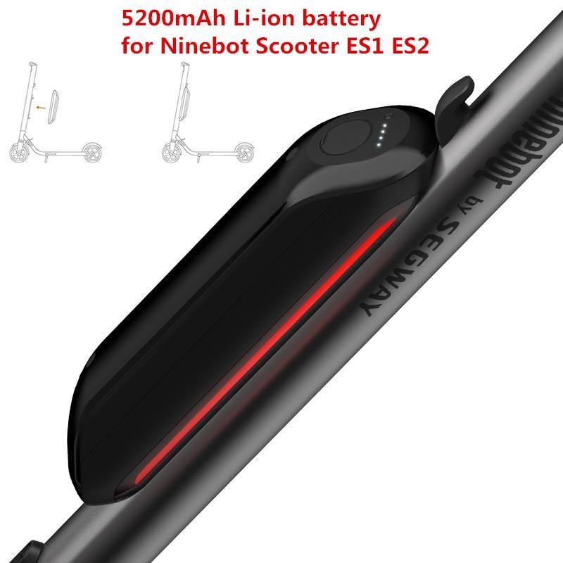 Originale Ninebot KickScooter ES1 ES2 Aggiornamento Batteria Kit Smart Scooter Elettrico Leggero Hover Skateboard Accessori