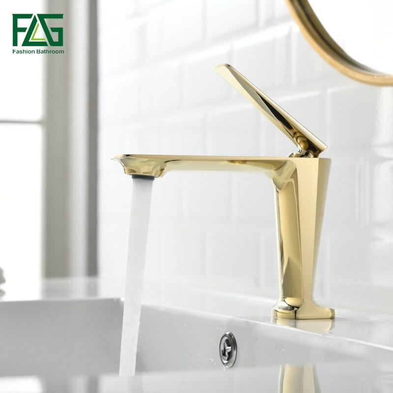 golden faucet single handle deck mounted basin