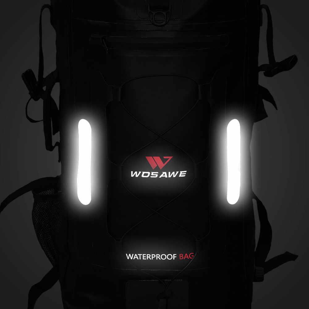 30L Compressível Cauda Moto Touring Mochila Dobrável saco de Armazenamento de Viagem À Prova D' Água Da Motocicleta Motocross Camping Caminhadas Sacos de Bagagem