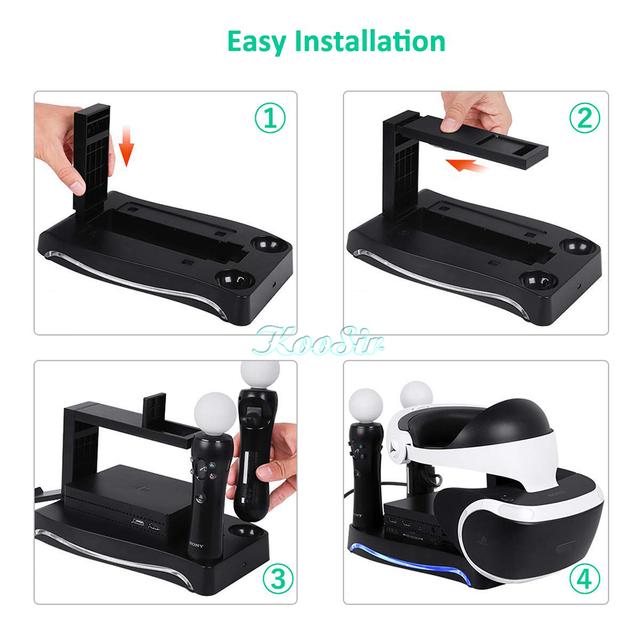 PSVR Headset Storage & Charging Stand
