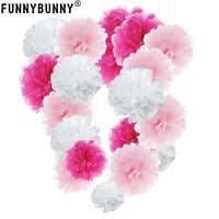 13cm Tissue Pom Poms Papier Blume Ball Für Geburtstag Party Hochzeit Dekoration Baby Dusche Braut Dusche Festival Dekorationen