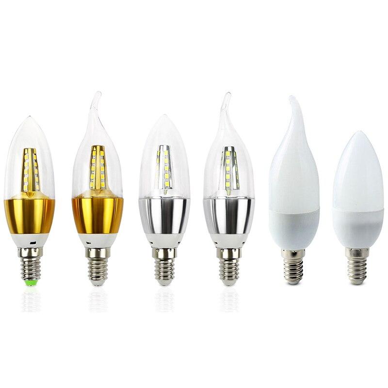 Lampada led e14 lamp 220v smd 2835 ampolletas bombillas 7w for Lampada led e14