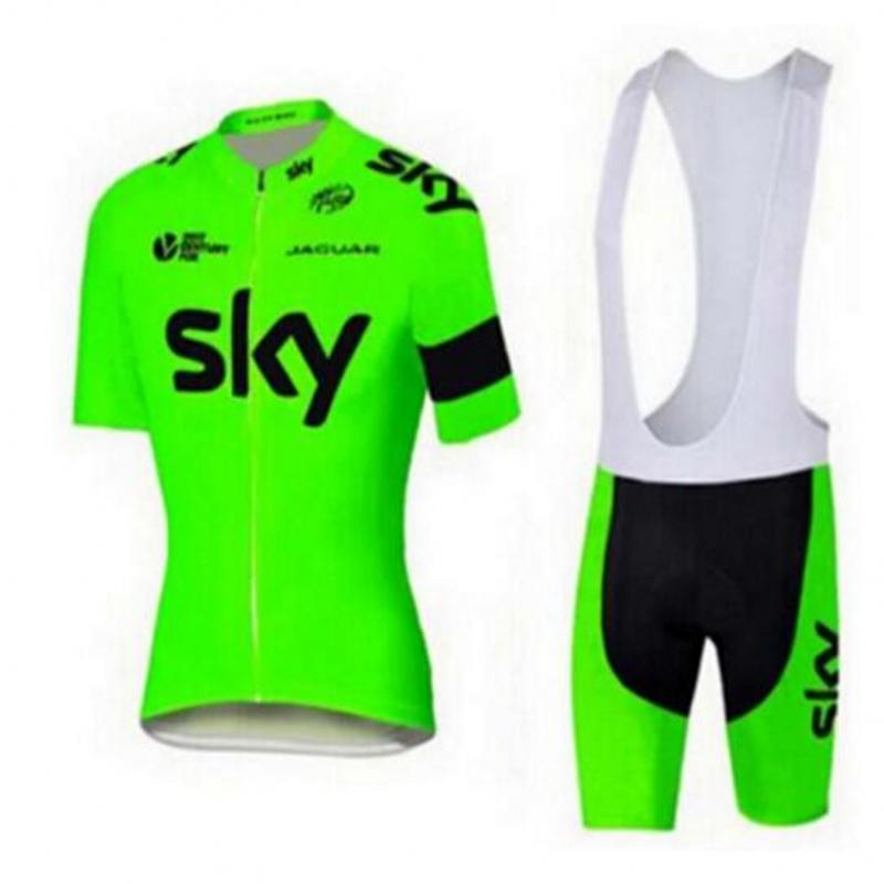 Men's 2018 Cycling Jersey MTB Bike Clothing SKY Team Cycling Clothing Ropa Ciclismo Jerseys PRO Bicycle Wear Bike Clothes Sets цены
