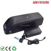 EU UNS freier steuern und versand Hailong batterie 52 V 14Ah Lithium-ionen 52 V hochspannung elektrische fahrradbatterie für fat tire bike