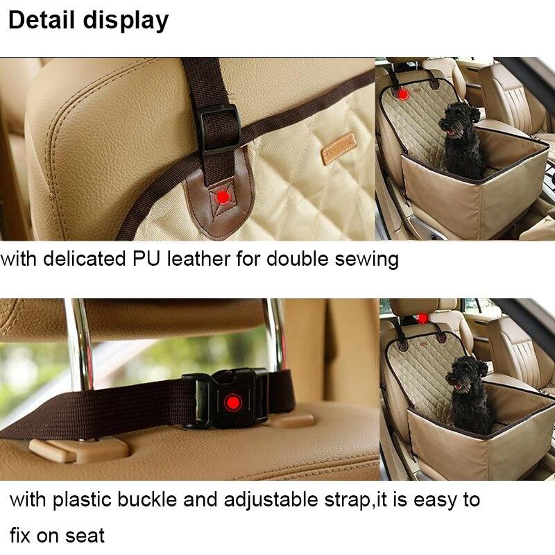 Doglemi 900D Nylon Waterproof Dog Bag Pet Car carrier Dog Car ...