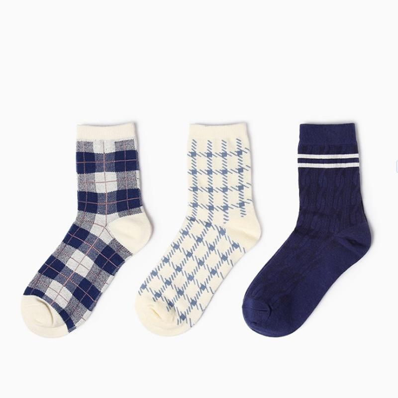 2018 Hot Sale Cotton Mens Socks Print Breathable Harajuku Crew Ladies Novelty Long Ankle spring atumn winter Happy funny Socks