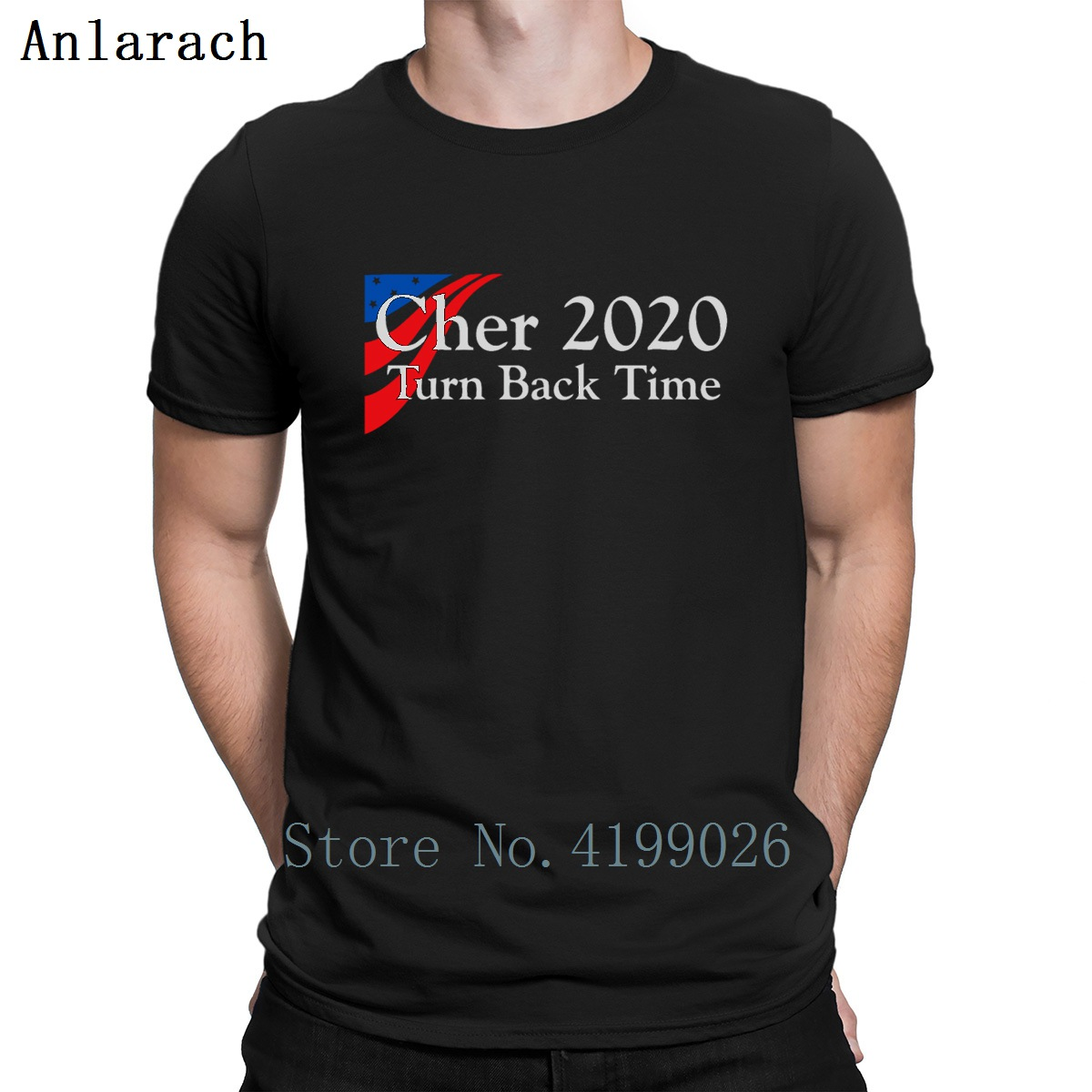 Cher 2020 Turn Back Time T Shirt Cheap Cotton Simple Sunlight Printed Custom Tshirt Hiphop Outfit New Style Great Urban