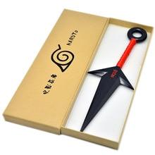 Anime Naruto Ninja Uzumaki Kunai knives For Throwing Weapon Props Cosplay knife Throwing knivesPlastic