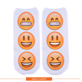 Женщины 3D Печати Harajuku Стиль Смайлик Emoji Смайлики Смайлик Смайлик Забавные Носки Повседневная Art Носок Mujer Мужчины Носки