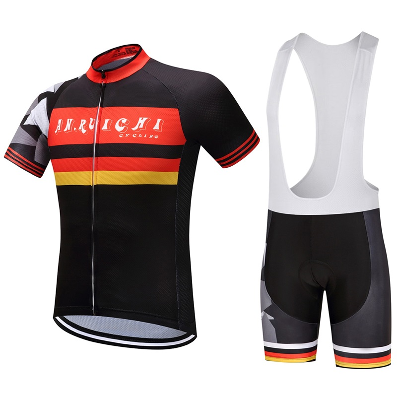 new AN.RUICHI cycling bike bicycle jersey dress sportwear ropa ciclismo number 2017 summer AN-34