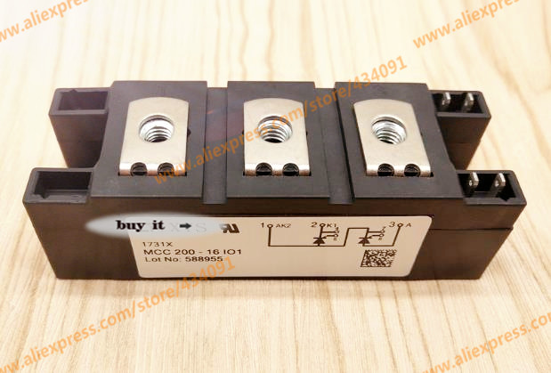 Free shipping NEW MCC200-16IO1 MCC200-16I01 MODULE