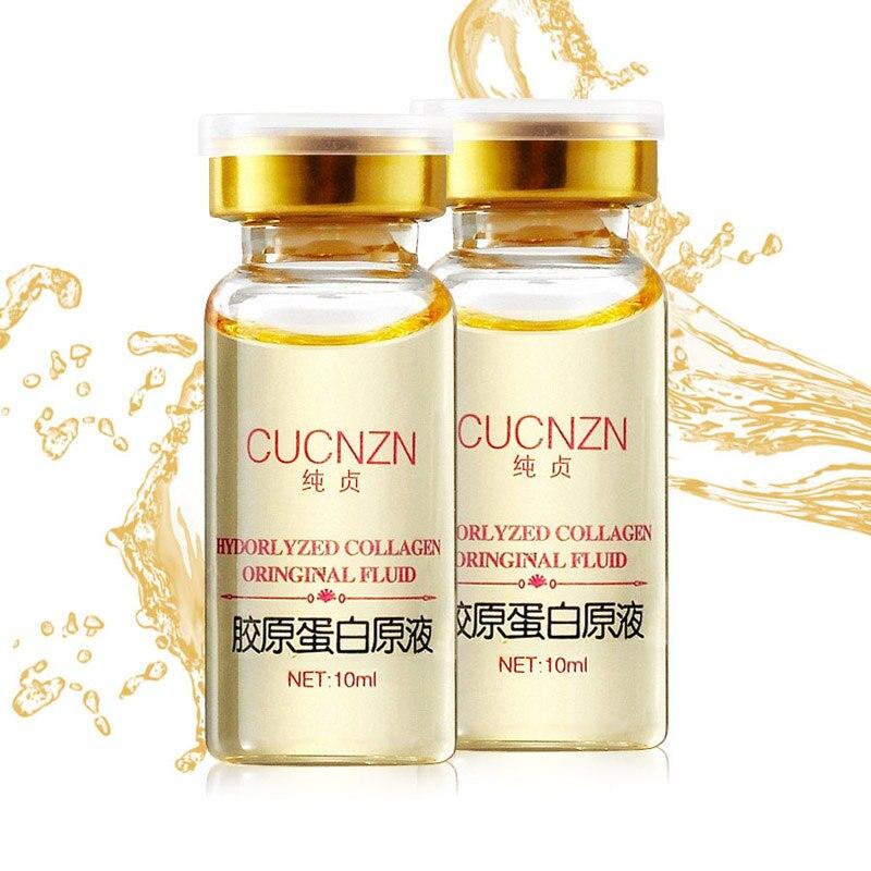Molecule pure de colagen cucnzn lichid de întărire 10ml hidratant de albire extract de albire de întinerire fata de îngrijire ser de crema