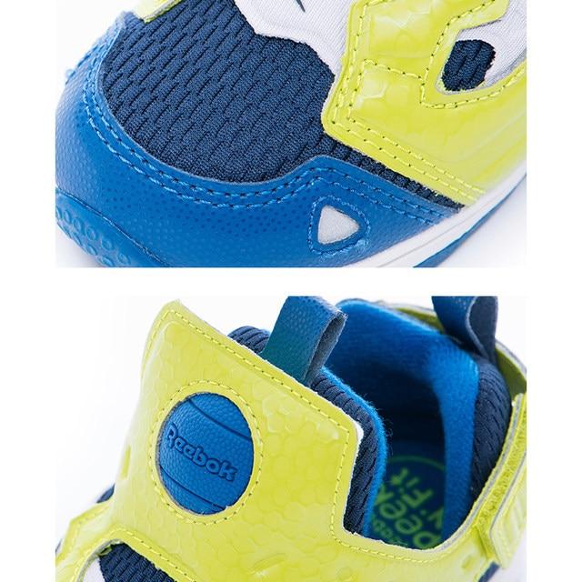 bf4dd745cdf REEBOK Luxury Brand Kids Baby Sport Running Shoes VERSA PUMP FURY SYN Boy  Casual Walker Sneakers Slip On Baby Toddler Footwear