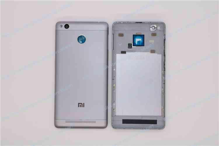 redmi 3s Cover Gray