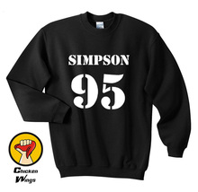 Brad Simpson 95 Sweatshirt Women Crewneck Unisex More Colors -C818