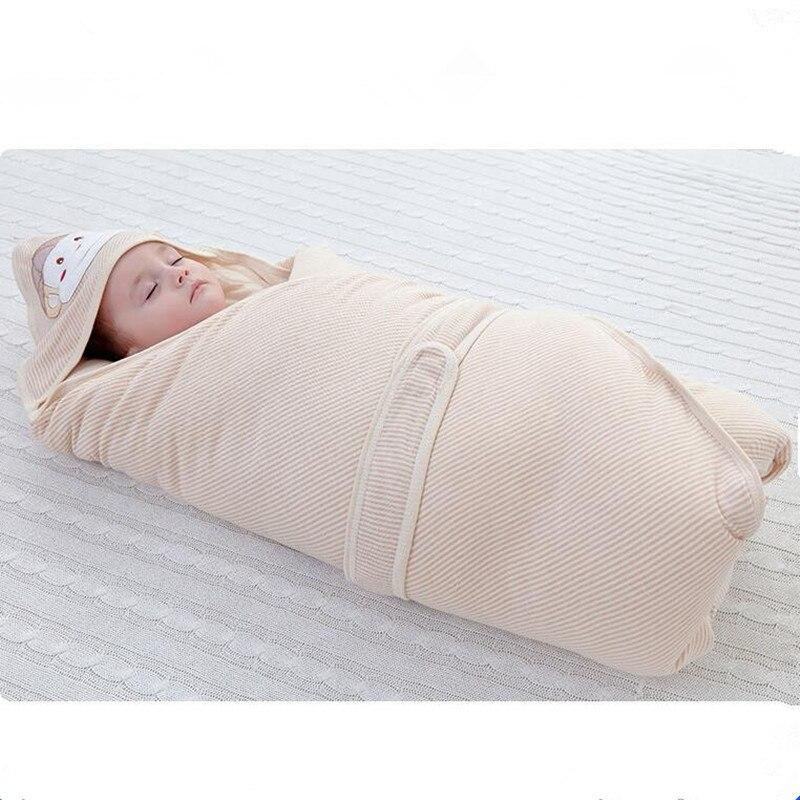 Nouveau garçons filles climatisation couette chaude couleur douce coton sac de couchage nouveau-nés sac de couchage bébé nouveau-né bébé câlin couette