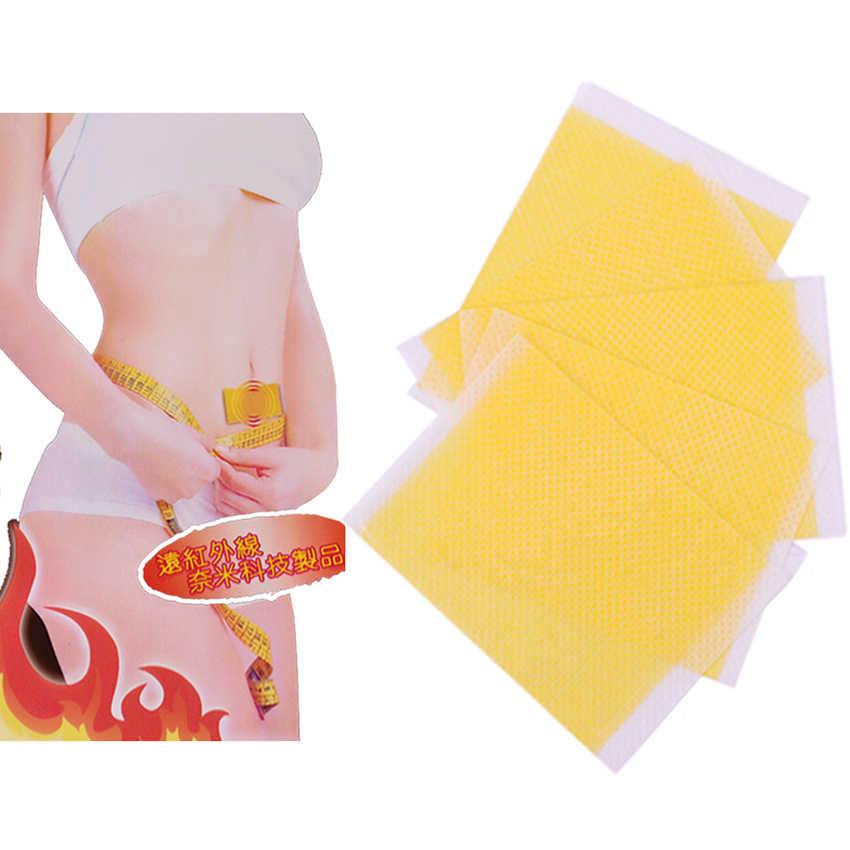 10PCS Slimming Stick ลดน้ำหนักวางแพทช์แพทช์การดูแลสุขภาพ Slimming Patch Fat Burning Detox Adhesive