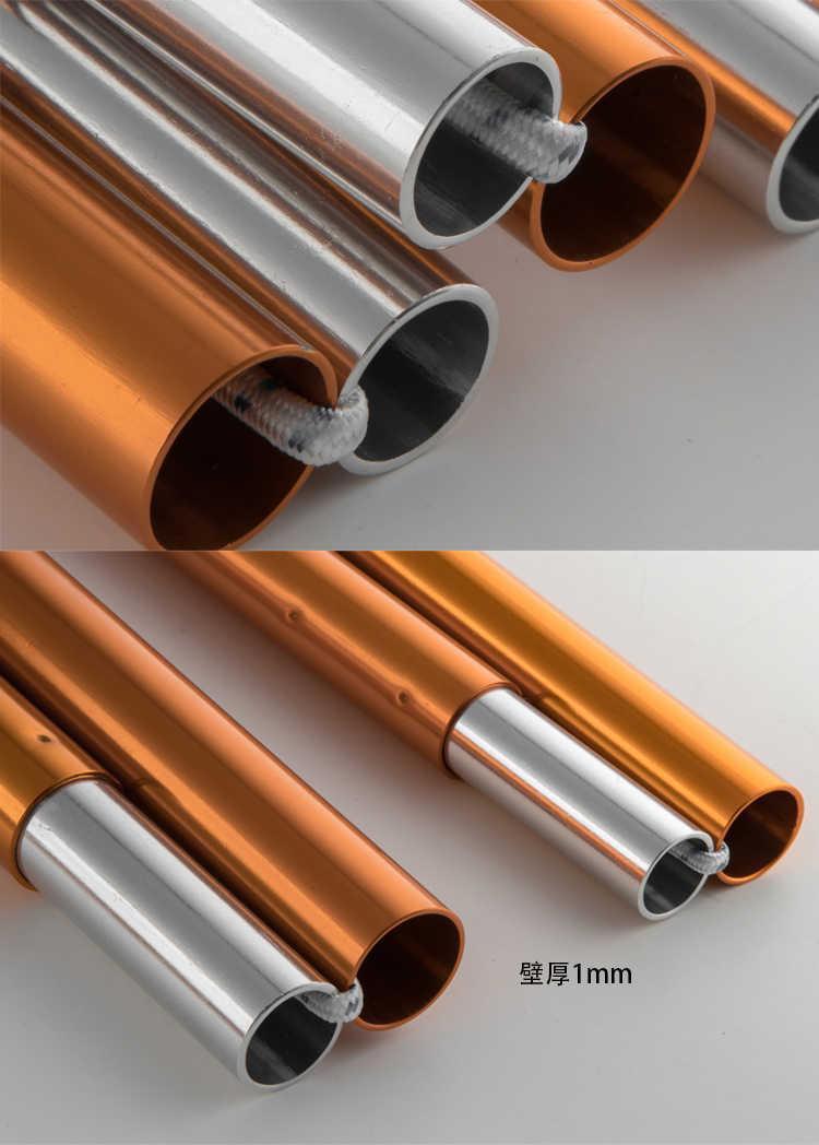2 pacote de alta qualidade ao ar livre ultraleve 7075 liga alumínio sun abrigo suporte haste pólo lona pólos