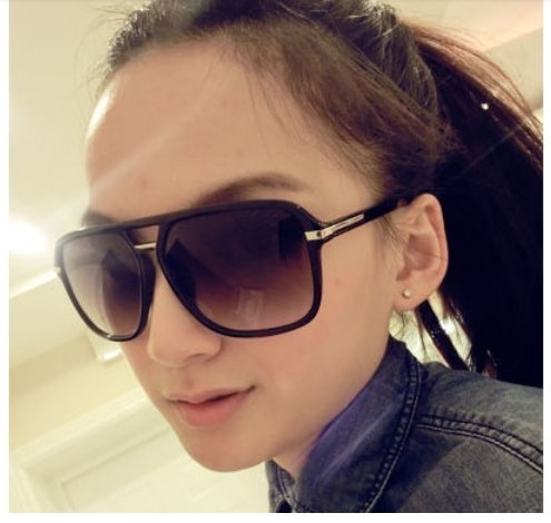 Free shipping fashion retro sunglasses men and women influx of people sunglasses yurt