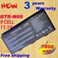 Bateria do portátil 7800 MAH Para E6603 BTY-M6D GT60 GT670 GX780 GT780 GT70 GX60 GX660 GT660 GX680 GX660R GT663 Series