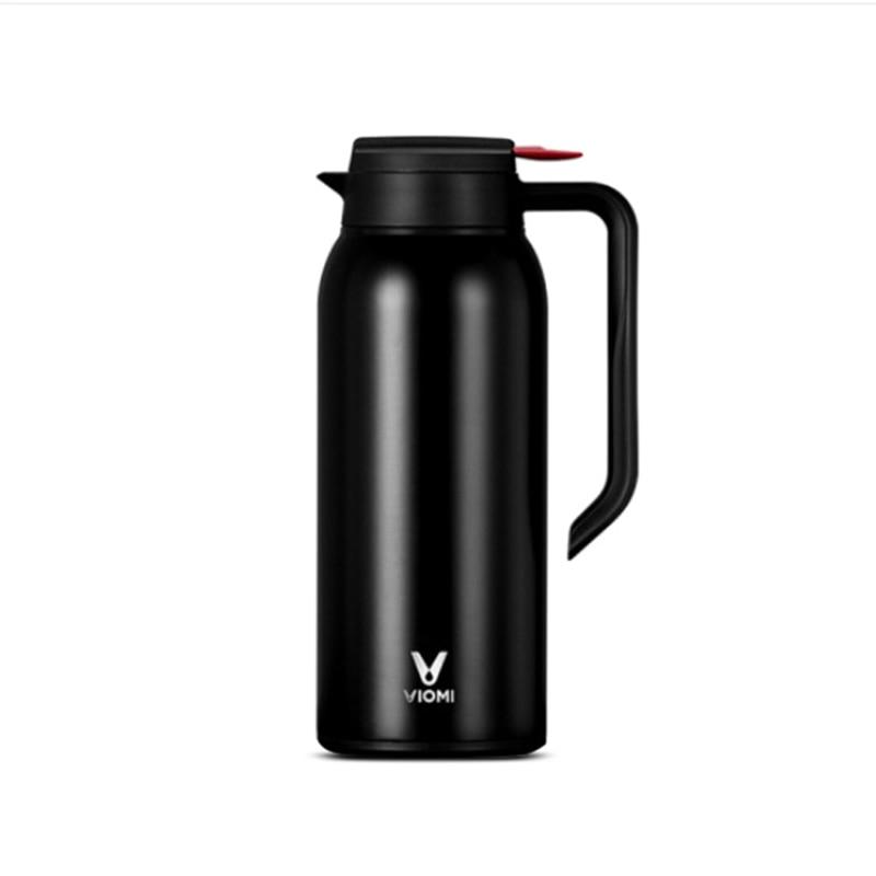 Mijia VIOMI Portable 1.5 L Kettle Stainless Steel Vacuum Flask Leakproof Vacuum Cup 24 Hours Long Lasting Insulation Properties stainless steel vacuum bullet insulation cup silver black 350ml