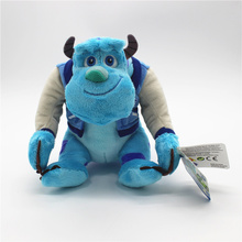 1 peça 22cm sulley sullivan brinquedo de pelúcia animais de pelúcia bebê crianças brinquedo macio para crianças presentes de natal
