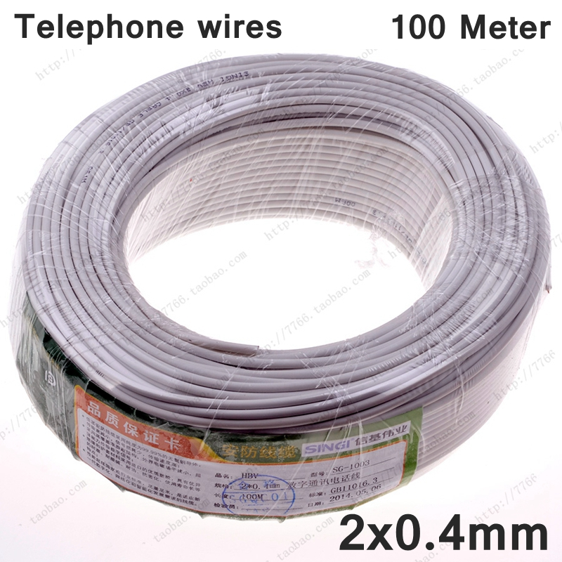 US $26.8  100 Meter Complete Roll HBV Telephone cable 2x0.4mm telephone on telephone equipment, cable wiring, telephone handset holder, telephone plugs, telephone transmitter, telephone components, telephone computer, telephone tools, telephone switch, telephone number, telephone systems, data wiring, telephone design, telephone diagram, telephone blue, telephone cables, computer network wiring, telephone connectors, telephone relay, telephone wires, telephone schematic, computer wiring, telephone service, low voltage wiring, electrical wiring, telephone jacks, telephone panel board, telephone repair, telephone communication system, telephone data lines, telephone line work, telephone installation, telephone operators,