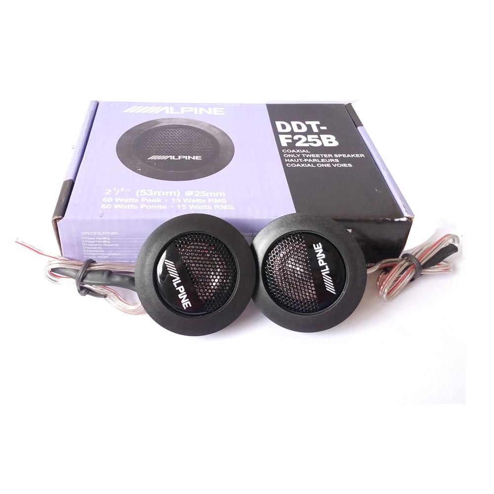 Hot selling alpine ddt f25b car speaker car tweeters audio high efficiency speakers