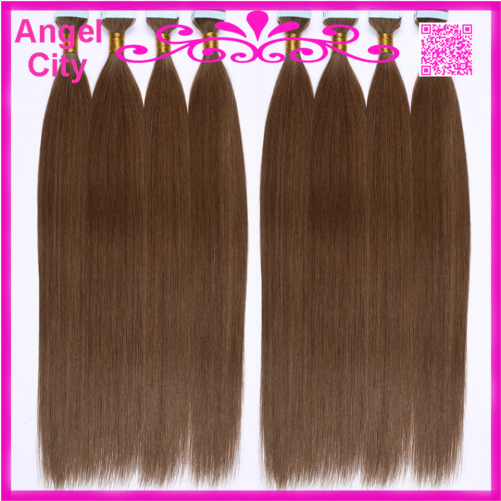 18inch 28inch Pu Tape Glue Skin Weft Hair Extensions Remy Keratin