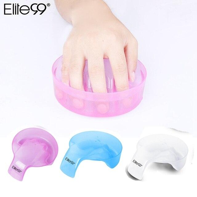 Elite99 Manicura Tazón Soak Finger Tip Acrílico Nail Soaker Tratamiento Remover para BRICOLAJE Nail Art Nail Gel Recoger 1