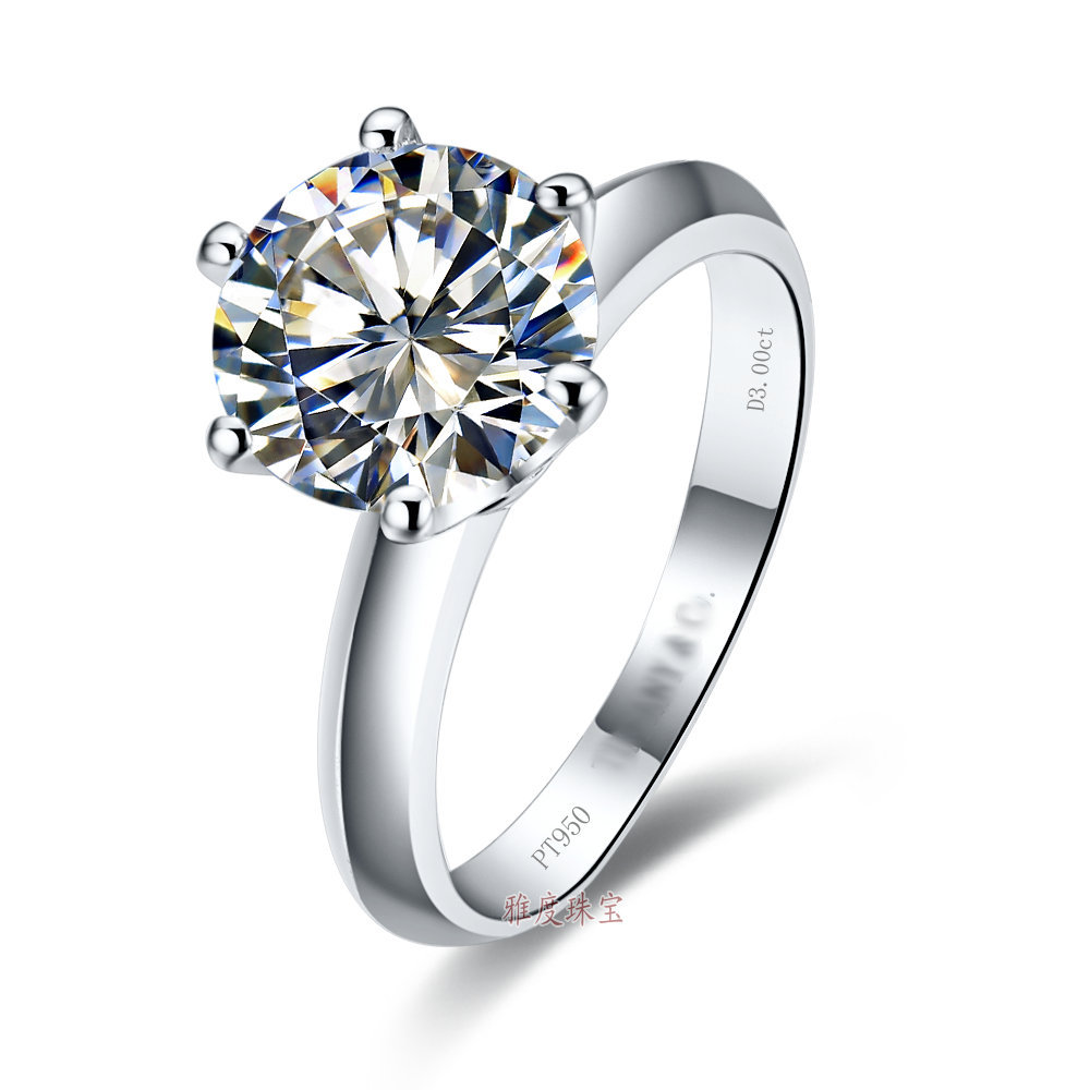Online Get Cheap 2 Carat Diamond Solitaire Engagement Ring Aliexpress