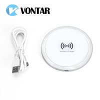 VONTAR Qi Wireless Charger Fast Charging For IPhone 8 10X Samsung Galaxy S6 S7 S8 Galaxy