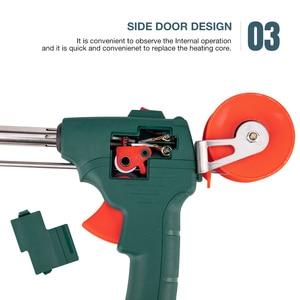 Image 5 - Kit de fer à souder électrique 60W, pistolet à étain, envoi automatique, pointe de Station de soudage électrique, pince à souder, outils de soudage