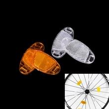 1 Pair Bicycle Spoke Reflector Warning Light Bicycle Wheel Rim Reflective lights