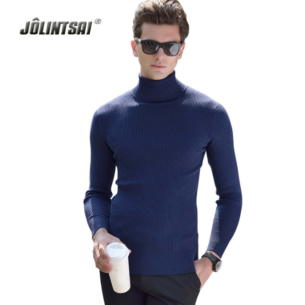 Black Wool Turtleneck Sweater Men Slim Fit Solid Men Knit Cashmere Pullovers And Sweaters For Men Plus Size 3XL Sueter Hombre