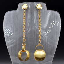 Sunny Jewelry Fashion Jewelry 2018 Long Drop Dangle Women's Earrings High Quality Ball For Wedding Party Anniversary Daily Wear