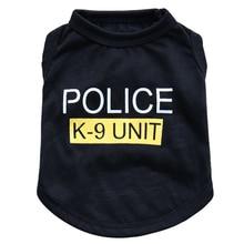 цены Unisex Pet Clothes Puppy Dog Cat Vest T Shirt Apparel Clothing