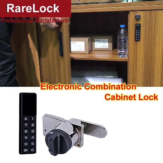 Rarelock Ms518 Electronic Combination Cabinet Door Lock For Cash Box