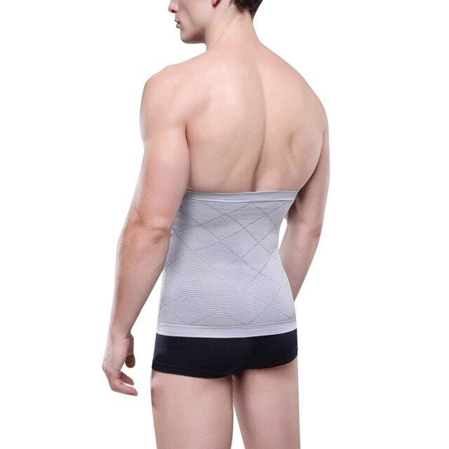 Men's Back Support Brace Belt Lumbar Lower Waist Double Adjust Back Pain Relief Waist Support New Sport Accessories 3