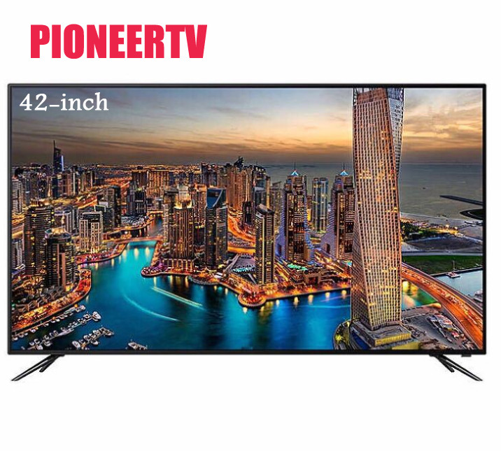 PIONEERTV LED TV 42-inch family hotel KTV 720P HD TV 1366*768 42-inch LED TV Network Sma ...