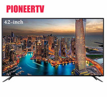 PIONEERTV LED TV 42 pulgadas familia hotel KTV 720 p HD TV 1366*768 42 pulgadas LED red TV Smart TV envío con DHL, el EMS, FedEx